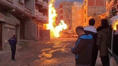 Photo of قسنطينة: إنفجار الأنبوب الرئيسي الموزع للغاز بعاصمة الولاية