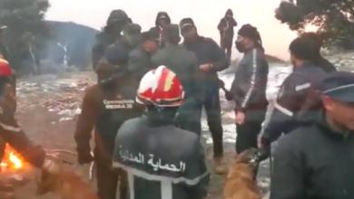 Photo of تواصل عملية البحث عن التائه الثالث بمنطقة الضاية الجبلية في ظروف قاسية