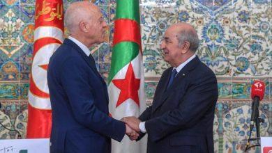 Photo of الرئيس التونسي قيس سعيد:  الحمد لله على سلامة الأخ الرئيس عبد المجيد تبون