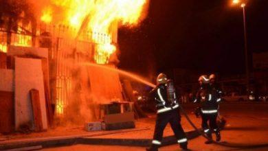 Photo of الحماية المدنية تواصل عملية إخماد حريق مصنع خاص بصناعة السجاد بتبسة