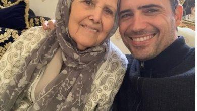 "Photo of بطل مسلسل ""عروس بيروت"" يفقد والدته"