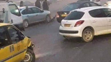 Photo of 05 جرحى في حادث إصطدام تسلسلي بأولاد بن عبد القادر بالشلف