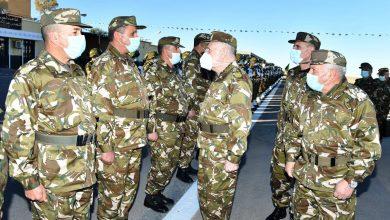 Photo of الفريق السعيد شنقريحة في زيارة عمل إلى الناحية العسكرية الخامسة