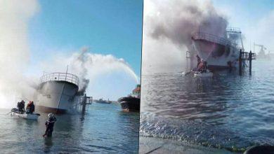 Photo of اندلاع حريق في باخرة صيد بميناء مستغانم