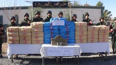 Photo of حجز أزيد من 5 أطنان من المخدرات المغربية بمنطقة جنوب غرب الجزائر في 2020