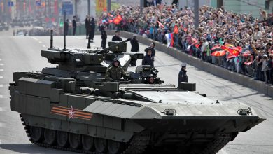 "Photo of لأول مرة تظهر فخر الصناعة الروسية… دبابة ""أرماتا"" تعرض في أبو ظبي"