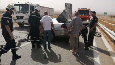 Photo of إصابة 6 أشخاص في حادث مرور بعين الدفلى