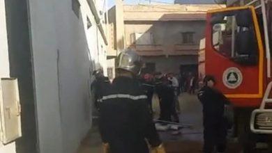 Photo of إنقاذ إمراتين في حريق ورشة لصناعة الحلوى بقديل