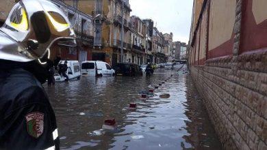 "Photo of الأمطار الرعدية تمسح ""ماكياج"" الباهية"