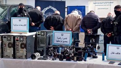 Photo of إعداد لافتات تحريضية بالإضافة إلى إعداد فيلم وثائقي: توقيف عصابة كانت تأجج المسيرات