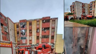 Photo of وهران: إخماد حريق عدادات كهربائية