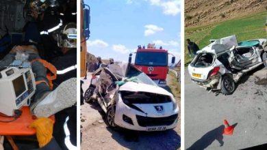Photo of ارتفاع الحصيلة إلى 4 قتلى في حادث مرور مميت بالطريق الولائي رقم 42 بالبرج