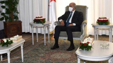 Photo of الرئيس تبون يستقبل وزير الخارجية والتعاون الدولي المالي