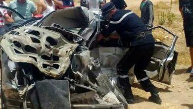 Photo of الجلفة: وفاة شخصين في حادث مرور بمدينة مسعد
