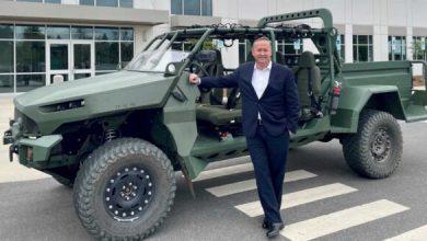 Photo of جنرال موتورز تكشف عن سيارة عسكرية كهربائية