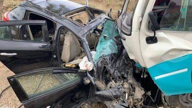 Photo of مصرع 3 أشخاص وإصابة 14 آخرين بعد حادث مرور في تيسمسيلت