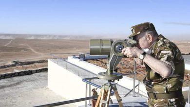 Photo of اليوم الثاني من زيارة الفريق السعيد شنڤريحة، رئيس أركان الجيش الوطني الشعبي إلى الناحية العسكرية الثانية بوهران