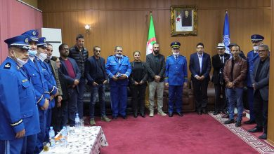 Photo of   مصالح الشرطة لأمن ولاية وهران تحتفي بالصحافة في يومها العالمي
