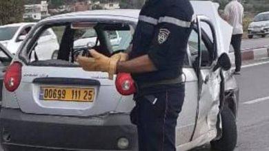 Photo of جيجل.. 5 جرحى 3 منهم في حالة خطيرة في اصطدام سيارتين ببلغيموز