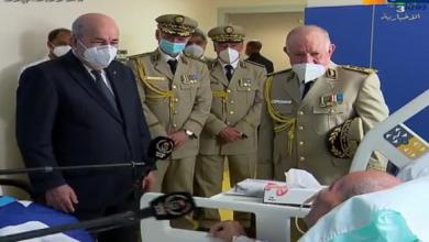 Photo of هذا ما قاله الرئيس تبون لنظيره الصحراوي خلال زيارته له بمستشفى عين النعجة