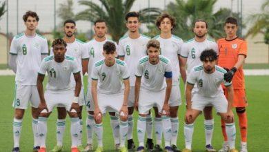 """Photo of التشكيلة الأساسية """"للخضر"""" أمام موريتانيا في كأس العرب U20"""