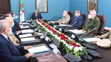 Photo of الرئيس تبون يترأس اجتماعا للمجلس الأعلى للأمن…  تعليمات لتأمين التشريعيات