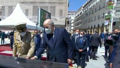 Photo of رئيس الجمهورية يدشن نصب تذكاري تخليدا لتضحيات الجزائريين المنفيين إلى أقاصي الأرض في الحقبة الإستعمارية