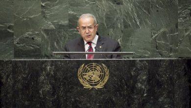 """Photo of لعمامرة أمام الجمعية العامة للأمم المتحدة : """"لا يمكن أن يبقى الشعب الصحراوي رهينة لتعنُت الدولة المحتلة"""""""