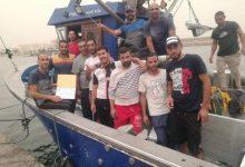 "Photo of تكريم طاقم سفينة ""محمد فاتح"" بعد إنقاذهم حياة أشخاص بعرض البحر"
