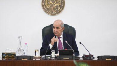 Photo of الرئيس تبون يترأس غدا الأحد اجتماعا لمجلس الوزراء