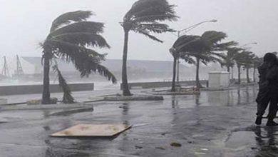 Photo of رياح قوية تصل إلى 60 كلم/سا وبحر هائج على السواحل الوسطى والغربية